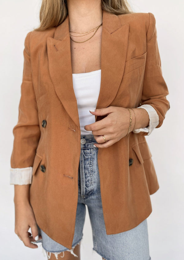 DB Tuck-In Blazer - Desert - house of lolo