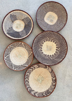 5 Tonga African Baskets A - house of lolo