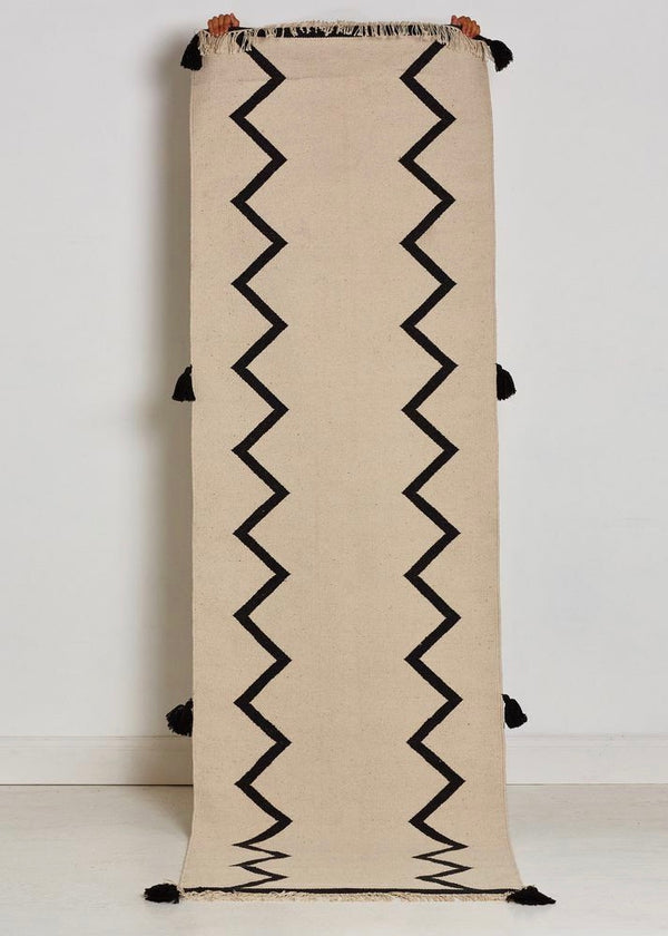 Zig Zag Floor Runner - house of lolo