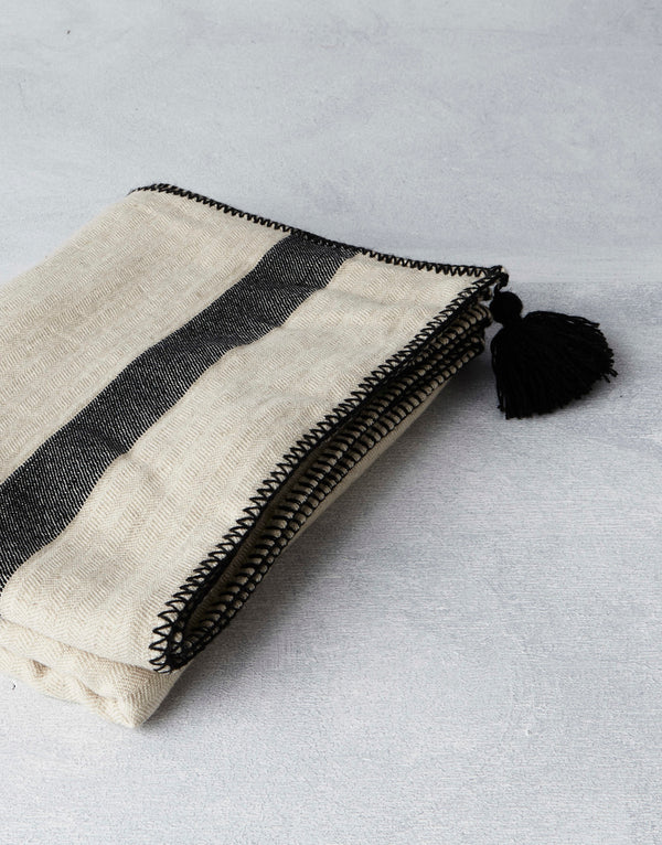 Kadir Linen Throw - house of lolo