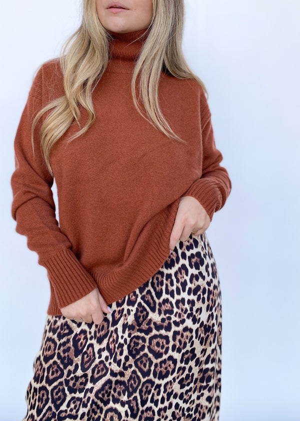 Romy Oversized Turtleneck - Sienna - house of lolo