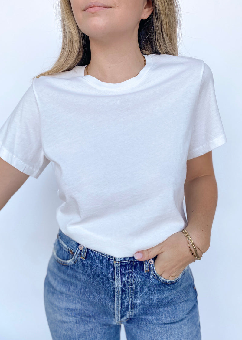 Mariam Classic Fit Tee - house of lolo