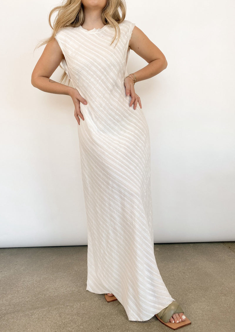 Provincial Midi Dress - Ivory - house of lolo