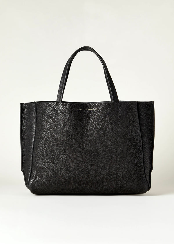 Buffalo Sideways Tote - Black - house of lolo
