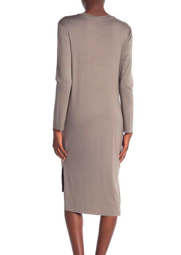 Long Sleeve Pinch Dress - house of lolo
