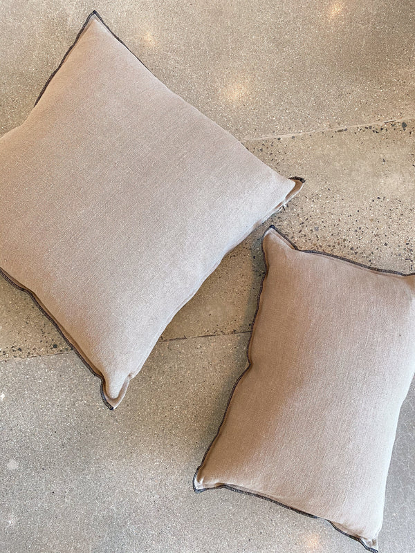 Santal Pillow - Stone - house of lolo