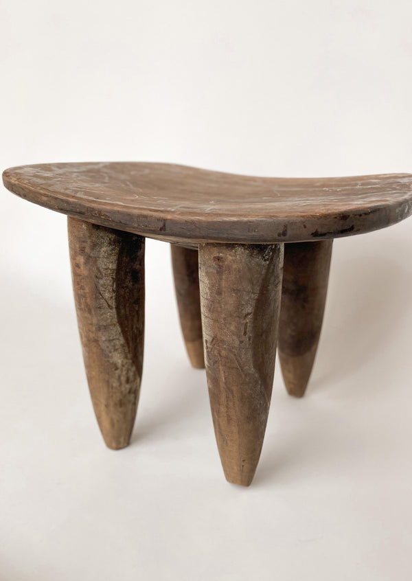 African Vintage Senofo Stool - house of lolo