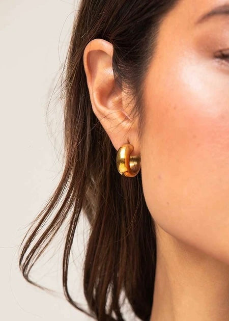 Mini Bold Hoops - house of lolo