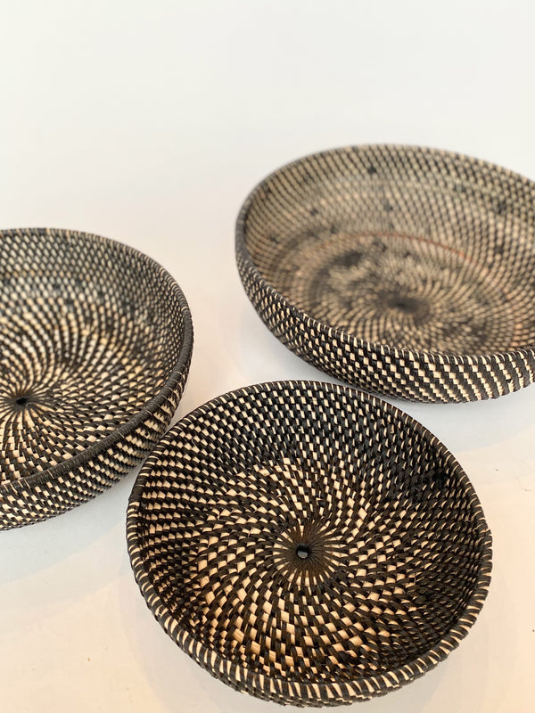 Tiga Woven Nesting Bowls - house of lolo
