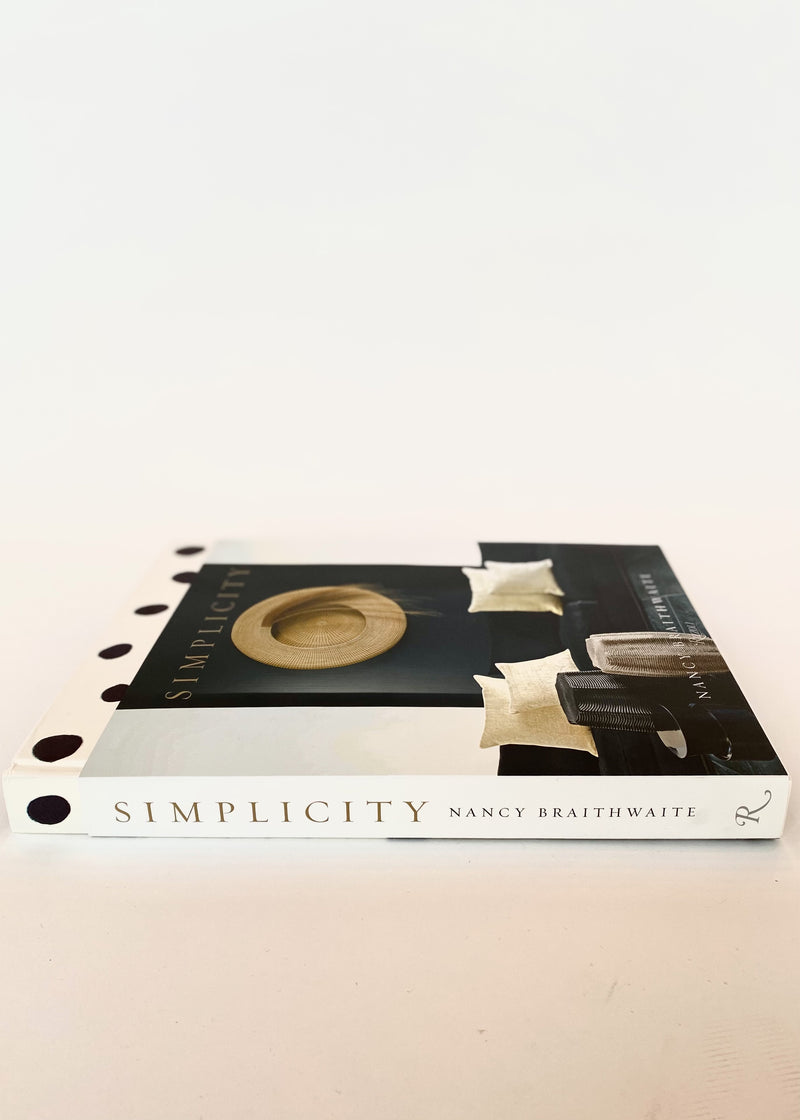Simplicity by Nancy Braithwaite - Book - house of lolo