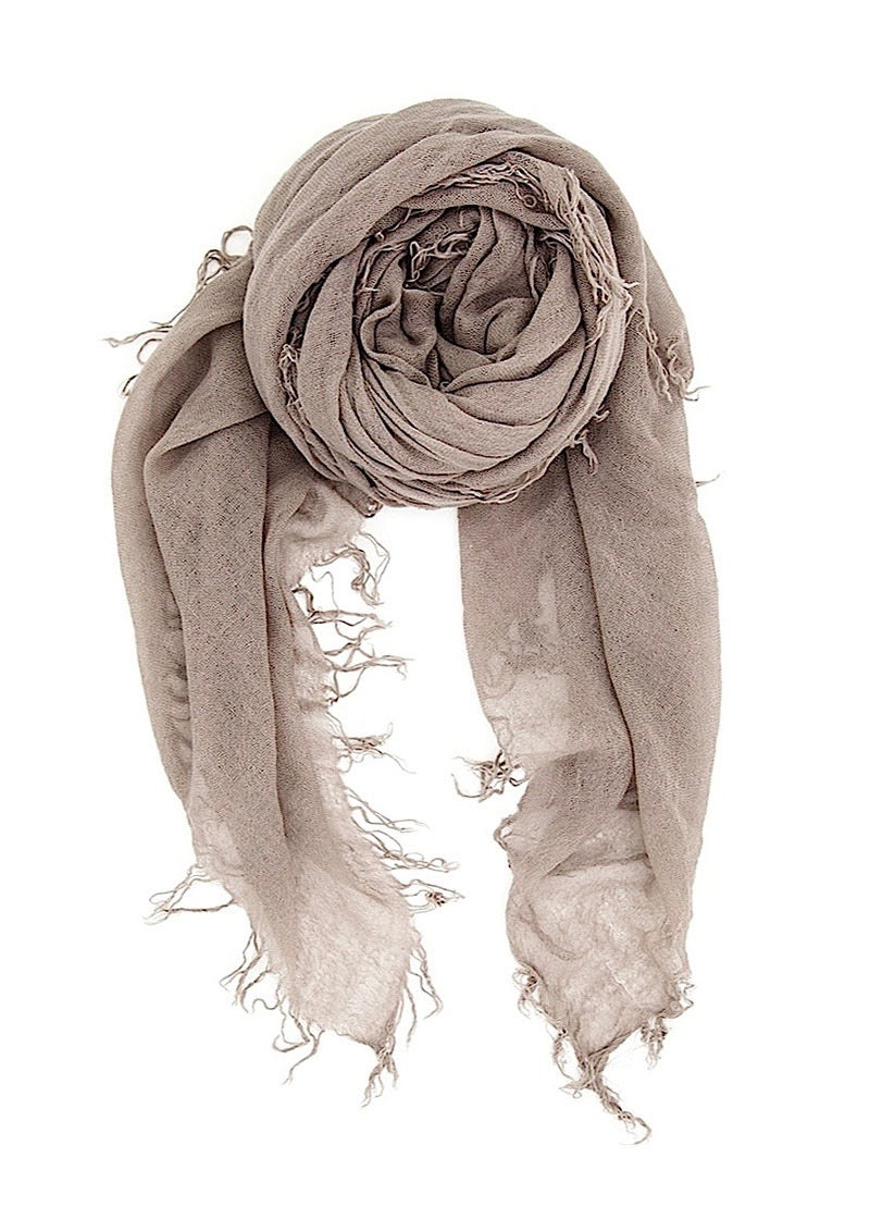 Cinder Cashmere And Silk Scarf - house of lolo