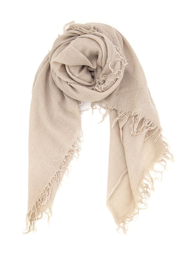 Doe Skin Cashmere And Silk Scarf - house of lolo