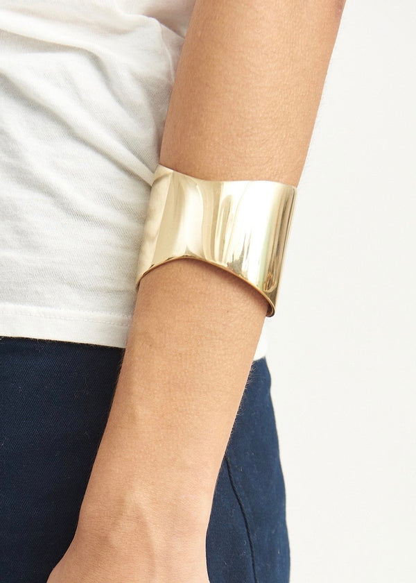 Organic Gold Flex Cuff - house of lolo