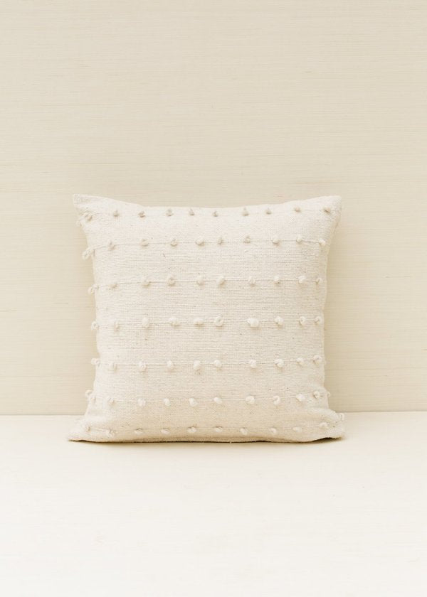 Loops Pillow - Cream - house of lolo
