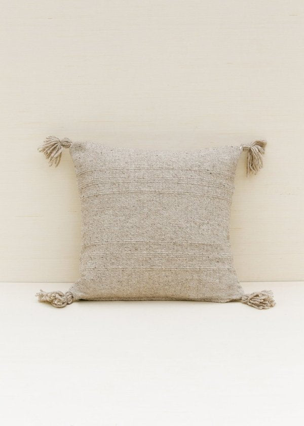 Puro Wool Pillow - Grey - house of lolo