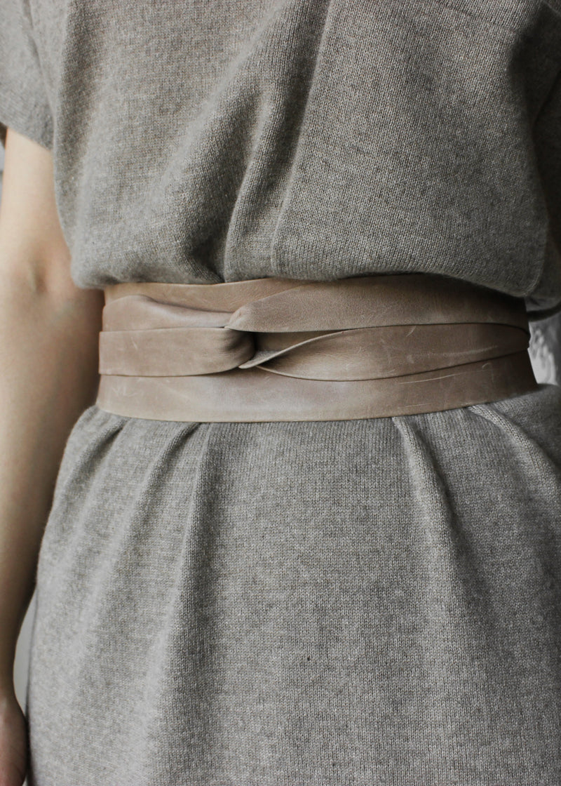 Leather Wrap Belt - house of lolo