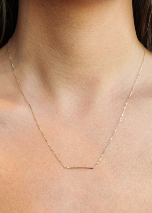 Staple Bar Necklace - house of lolo