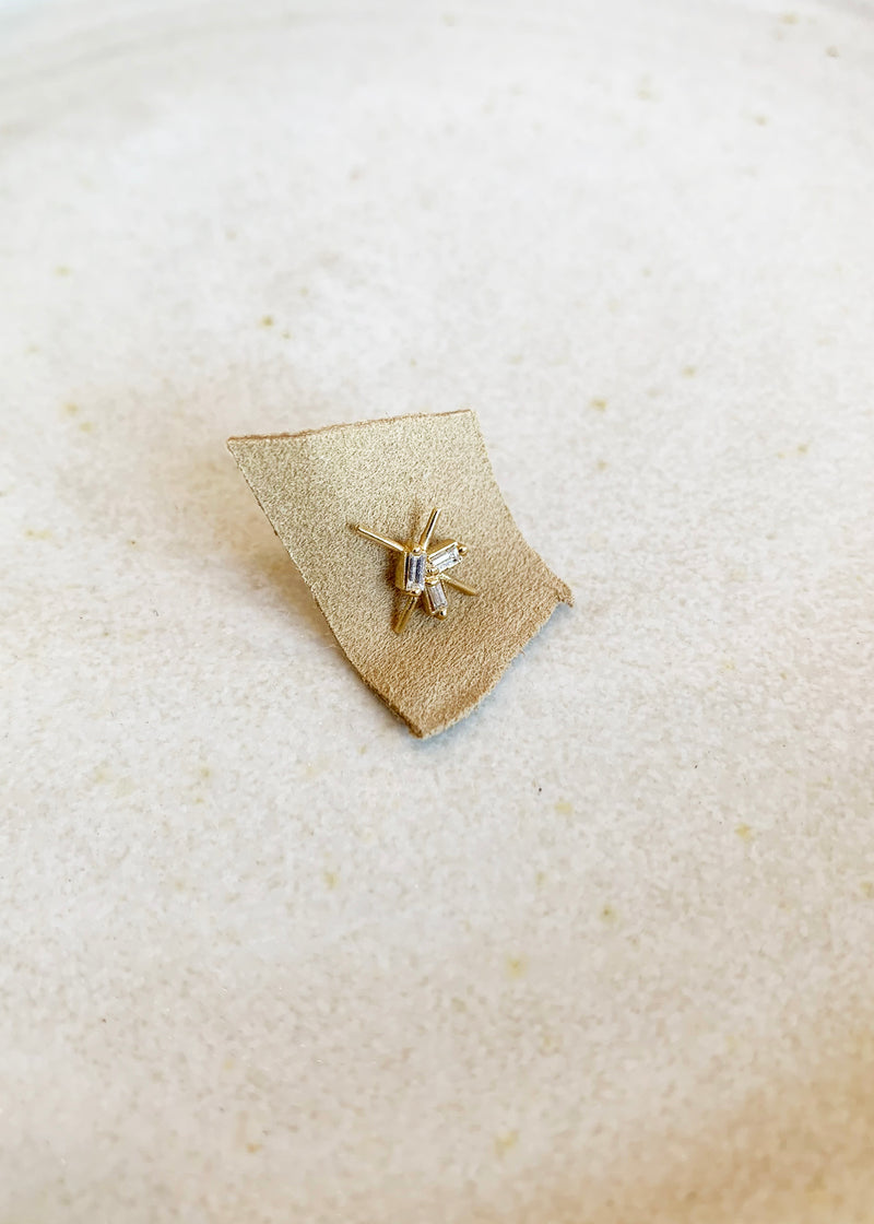 Baguette Cosmo Stud - single - house of lolo