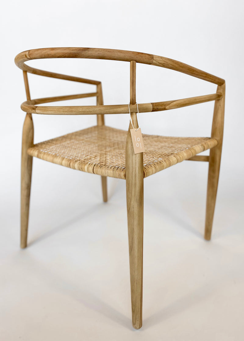 Finley Chair - Teak - house of lolo