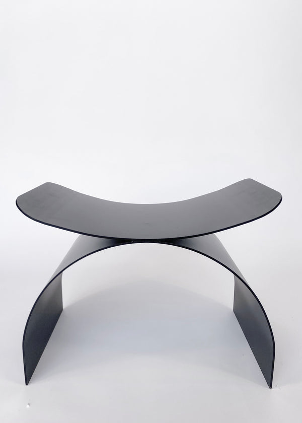 Papillon Stool Black Metal