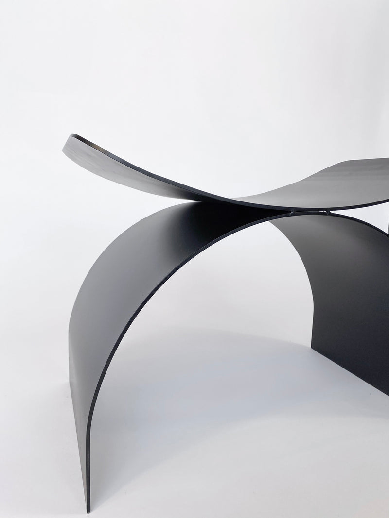 Papillon Stool Black Metal - house of lolo