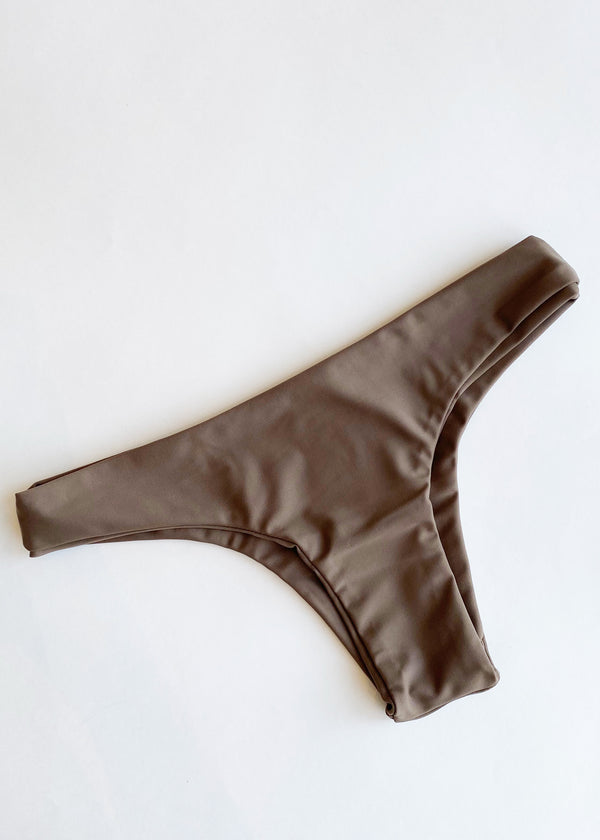 Noah Bikini Bottom - Taupe - house of lolo