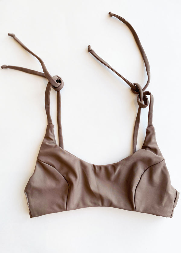 Zoe Bikini Top  - Taupe - house of lolo