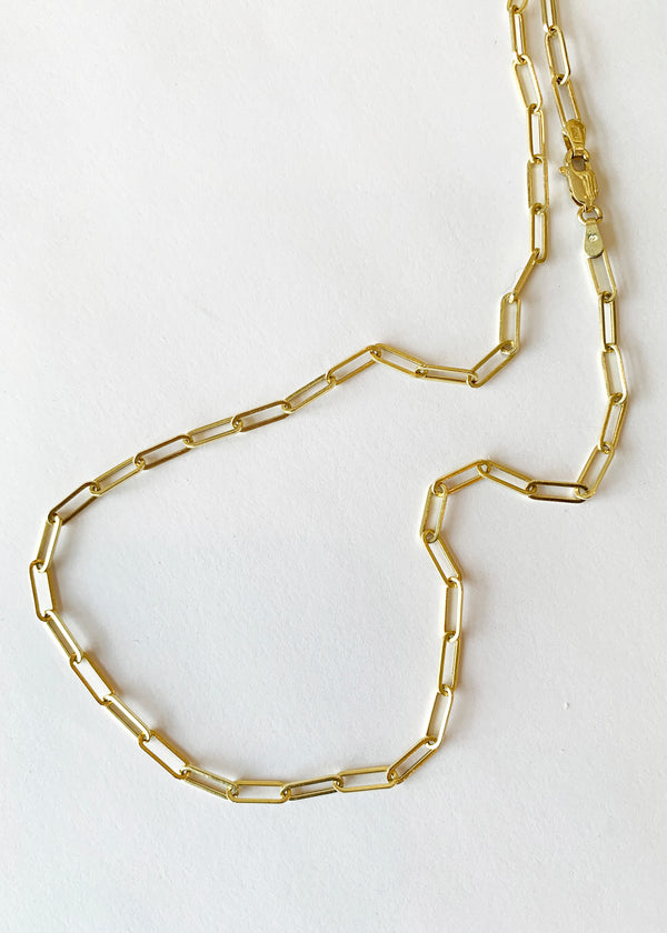 Paper Clip Chain Necklace - house of lolo