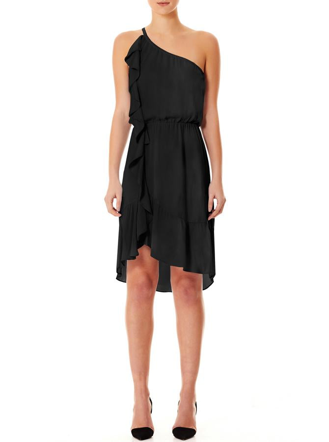 Look Twice One Shoulder Dress - house of lolo