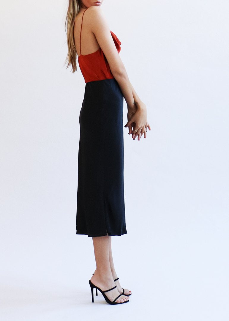 The Jessica Skirt - Black - house of lolo