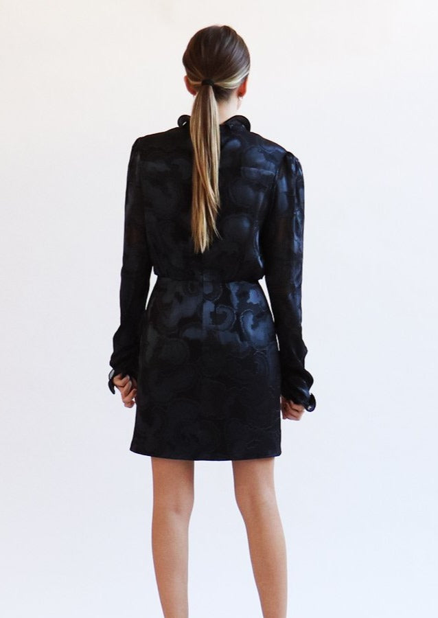 Rina Jacquard Dress - house of lolo
