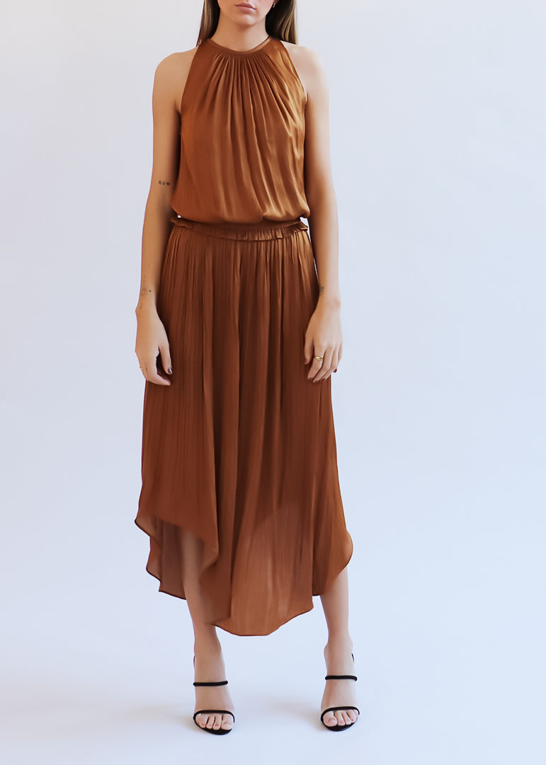 Copper Myrtle Dress - house of lolo