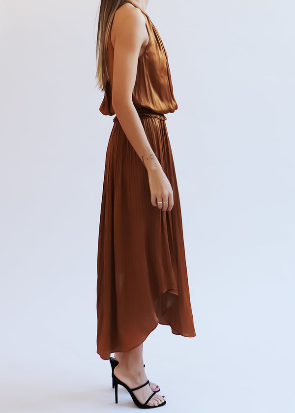 Copper Myrtle Dress