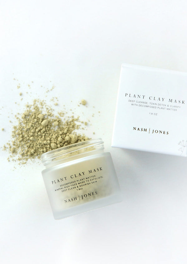 Plant Clay Mask - house of lolo