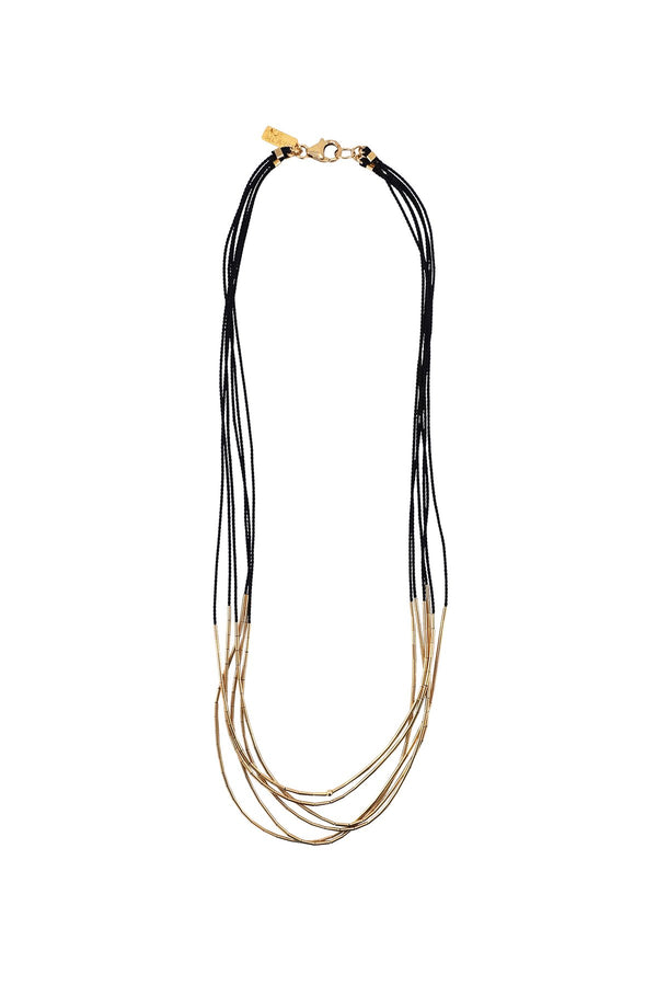 Aries Necklace - Black - house of lolo