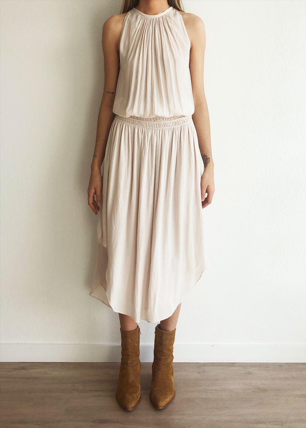 Audrey Dress - Bone - house of lolo