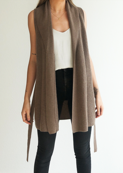 Cashmere Sweater Vest - house of lolo