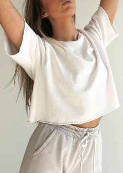 Cropped Tee - house of lolo