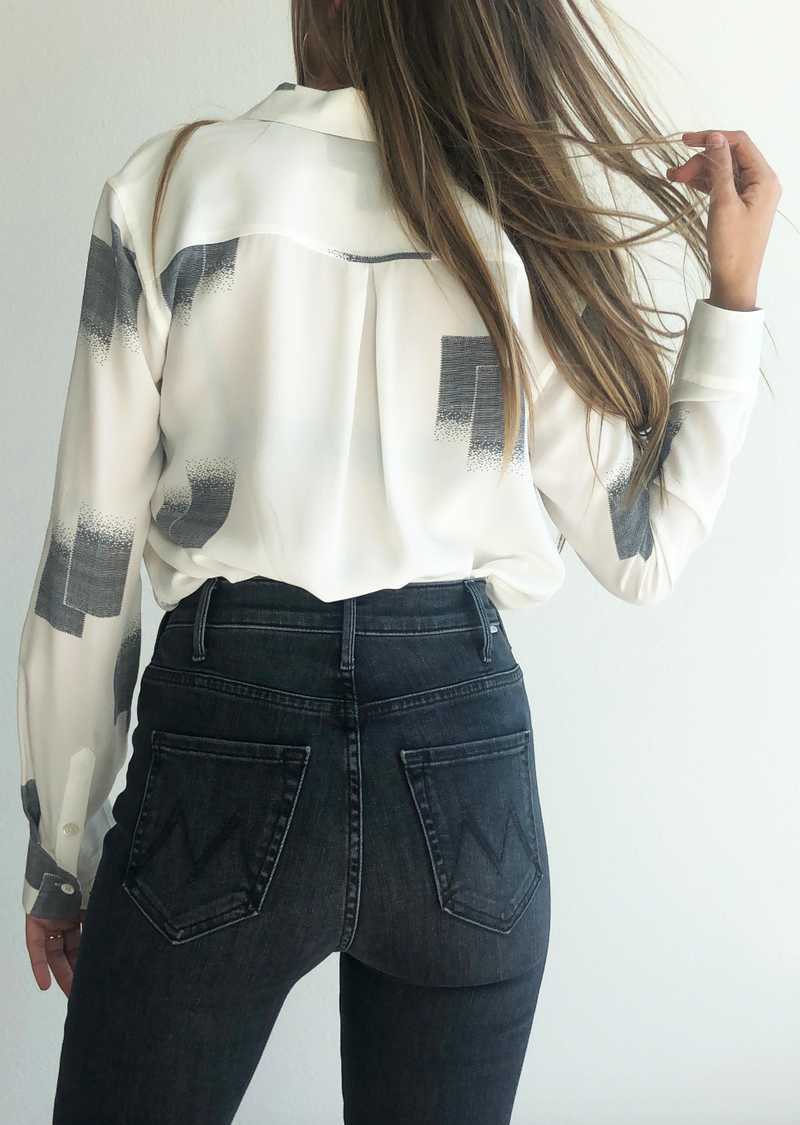 Essential Silk Shirt - house of lolo