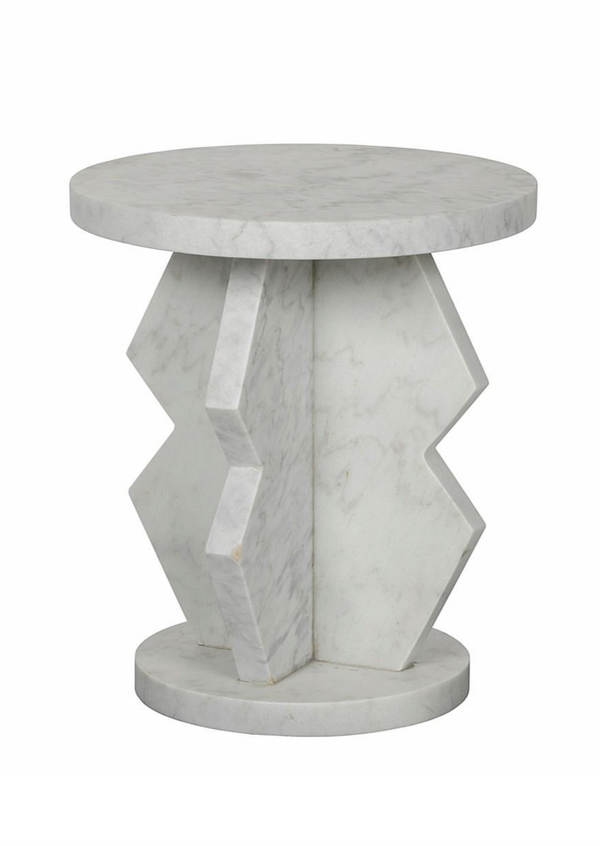 Belasco Marble Side Table - house of lolo