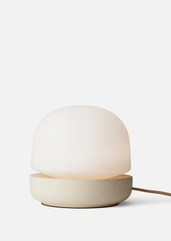 Stone Table Lamp - Sand Glass - house of lolo