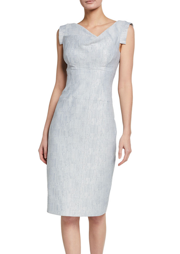 Jackie O Dress - Metallic Concrete - house of lolo