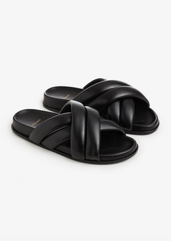 Lizzie Slides - Black - house of lolo