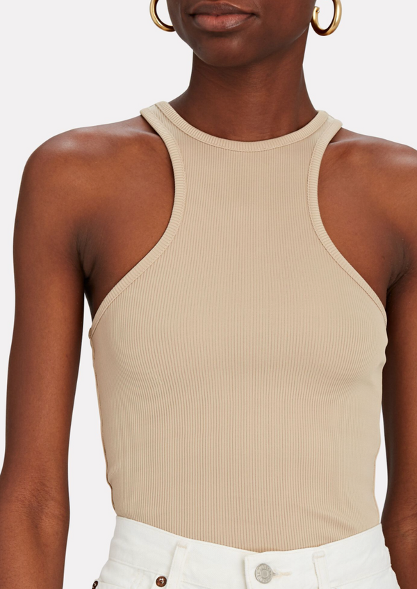 Morgan Tank - Beige - house of lolo