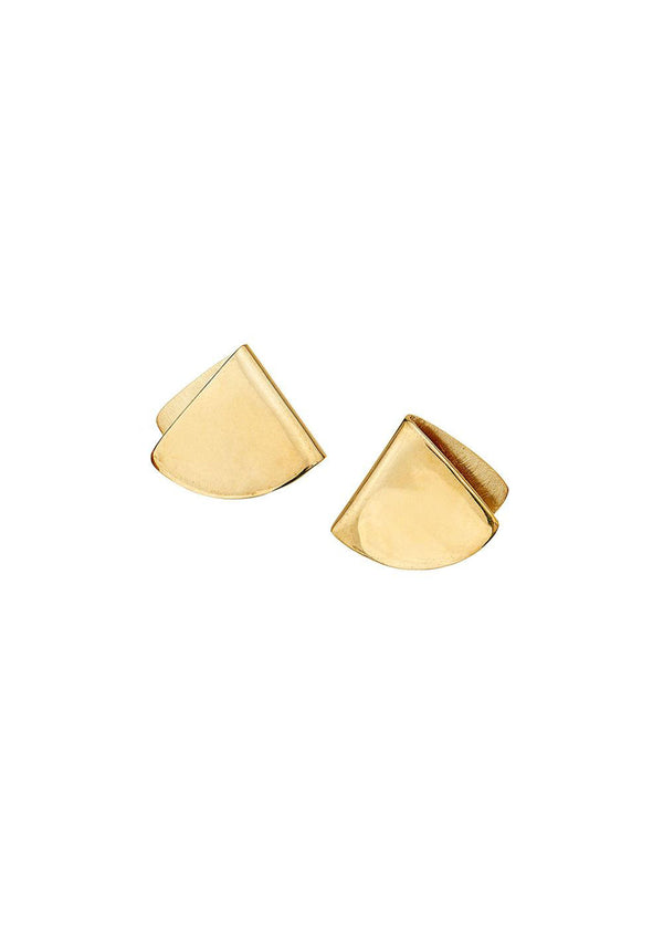 Feni Stud Earrings - Gold - house of lolo