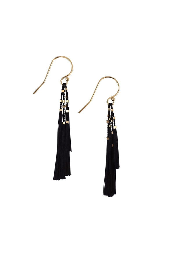Kiki Earrings - Black - house of lolo
