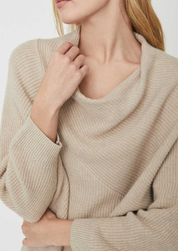 Leith Sweater - Birch Melange - house of lolo