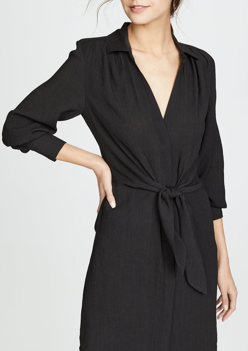 Madsen Maxi Dress - Black Onyx - house of lolo