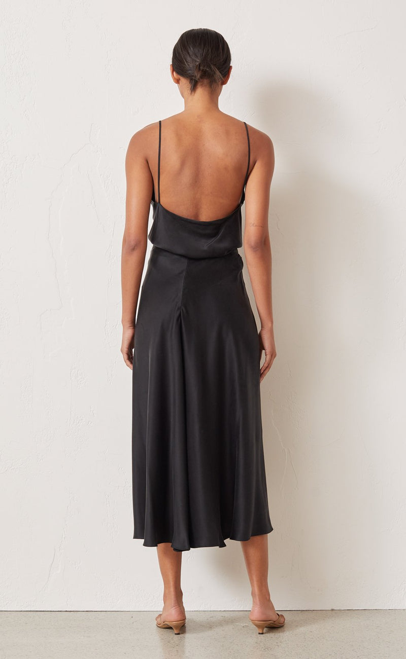 Classic Silk Cami - Black - house of lolo