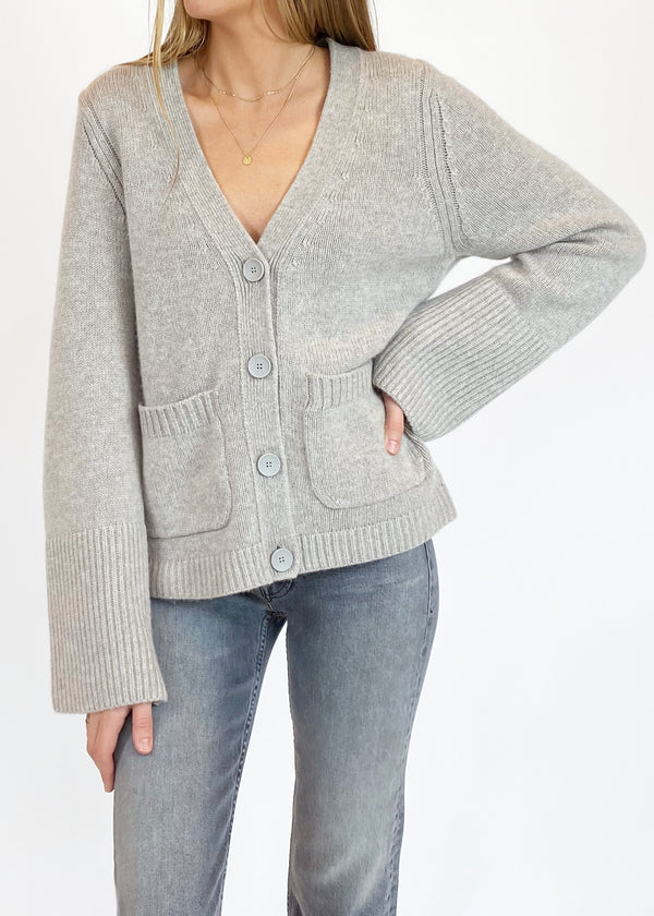 Mase Cardigan - Chia Melange - house of lolo